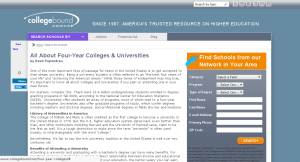 College Bound Education Network Portal